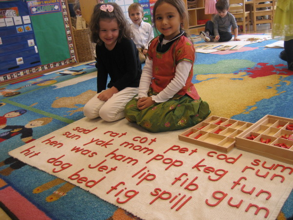 our students learn their phonetics early on and enjoy spelling words